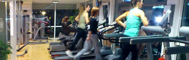 Fitness Treadmills, Bikes Steps and Elliptical machines - Gym equipment