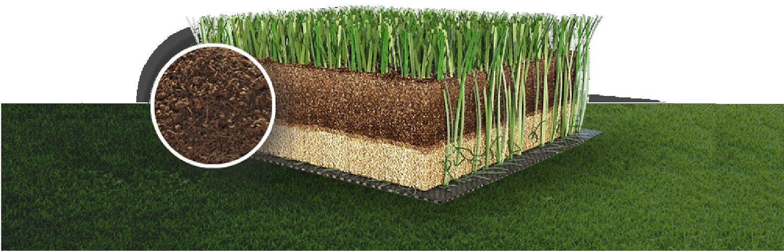 Synthetic Turf from Italgreen with ISO 9001 certificate
