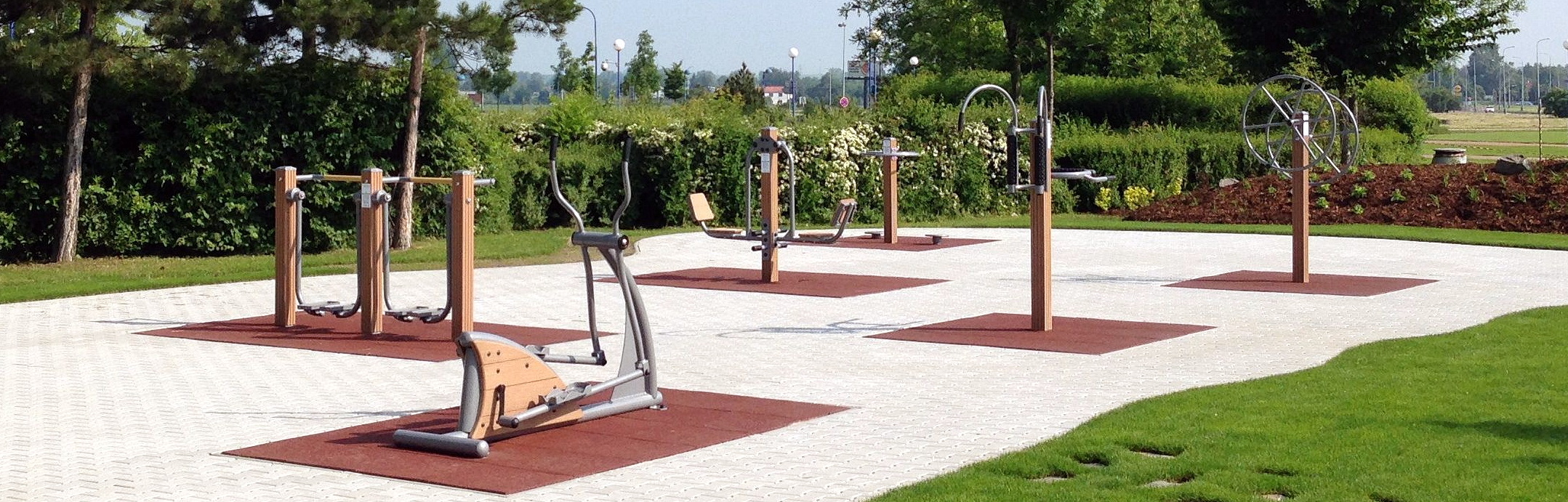Outdoor Fitness Equipment made Stainles Steel
